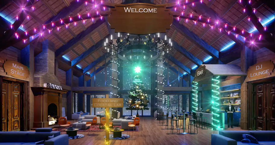virtual alpine lodge